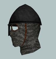 3d merc nasal helmet model