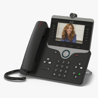 3d model cisco ip phone 8865