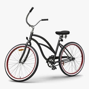 beach bike generic rigged 3d max