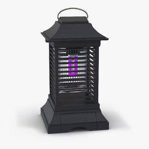3d model bug zapper