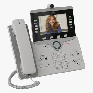 3d cisco ip phone 8865