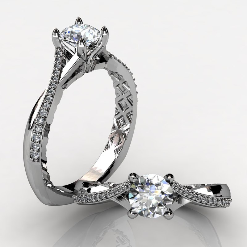 engagement rings 3d 3ds