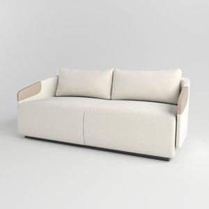 sofa worn leather max