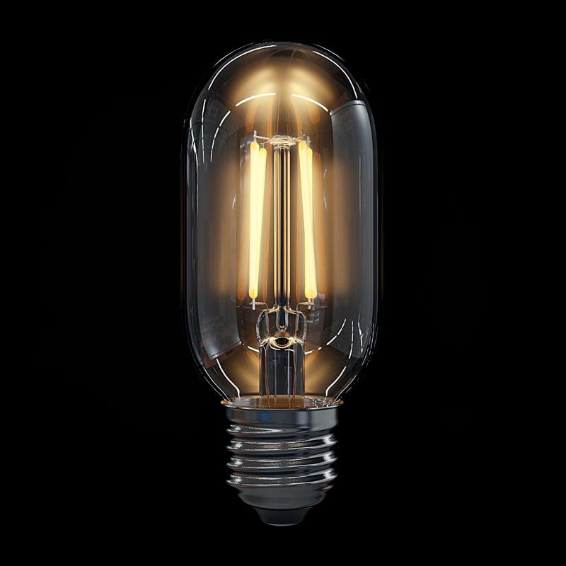 3d led filament bulb lights