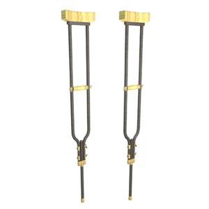crutches obj