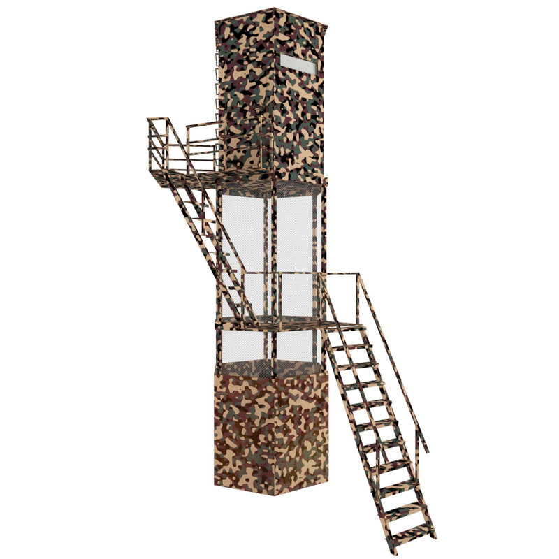 guard tower 3d max