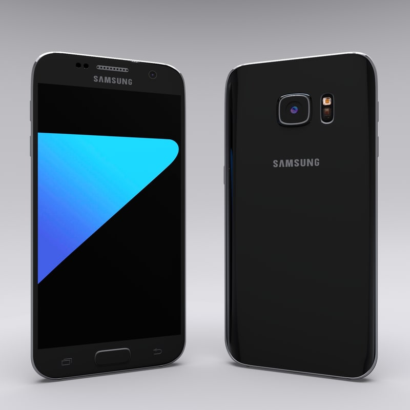samsung galaxy s7 3d model