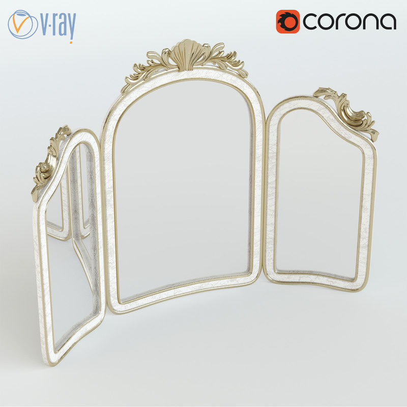 mirror silvano grifoni 3d model