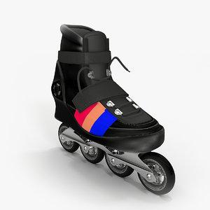 3d roller skate