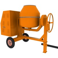 concrete mixer machine 3ds