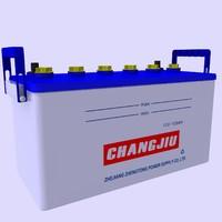 battery car 3d max
