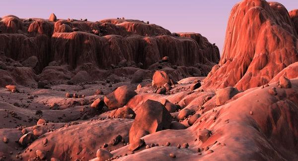 mountain terrain landscape max