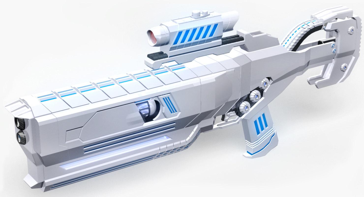 3d conceptual weapon dbp animation
