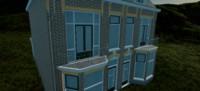 3d - house materials model