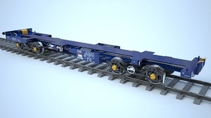 flatcar ecofret 3d model