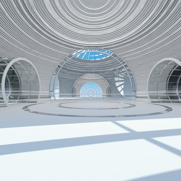 large architectural interior structure max