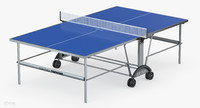 kettler star xl outdoor table 3d model