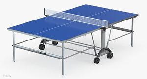 kettler star xl outdoor table 3d model