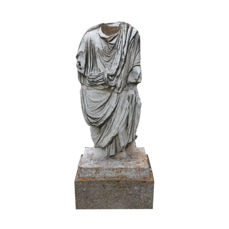 3d headless statue 3 model