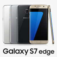 samsung galaxy s7 edge 3d model