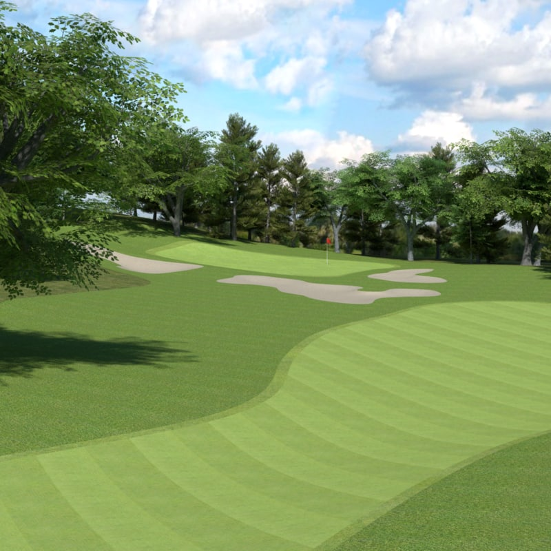 3d golf course