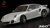 porsche 911 turbo 2006 3d max