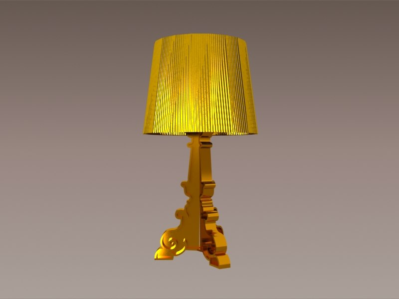 Bourgie Tafellamp Kartell : Thebazaarlista bourgie table lamp i kartell i open box
