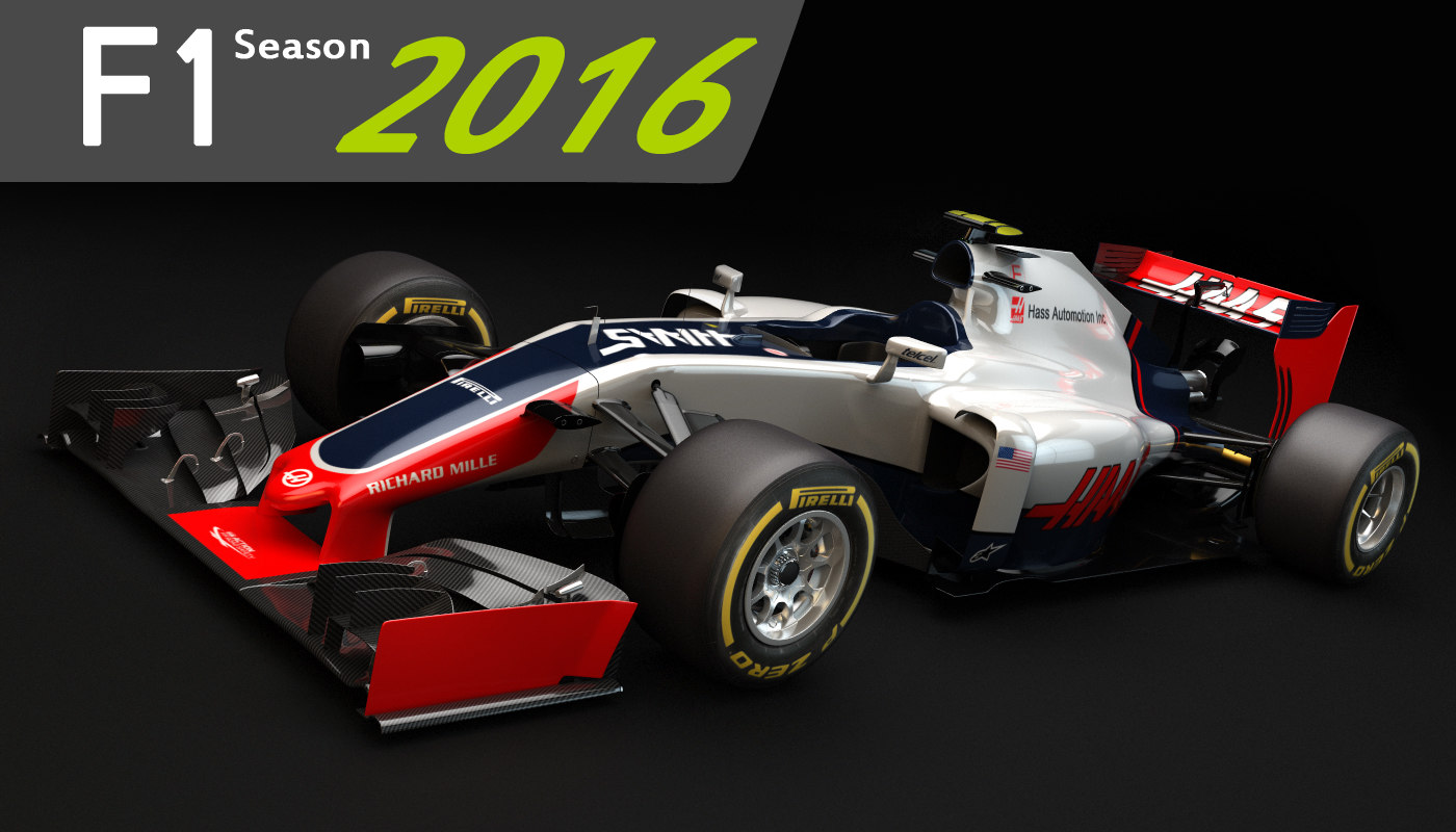 f1 hass vf-16 2016 max