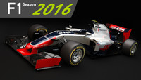 F1 Hass VF-16 2016