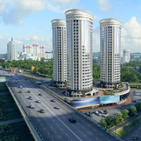 city scene 3d model