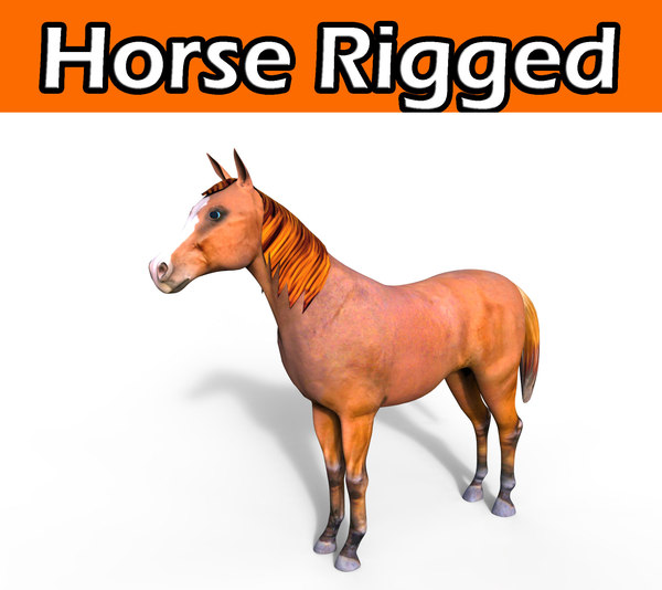 horse rigged max