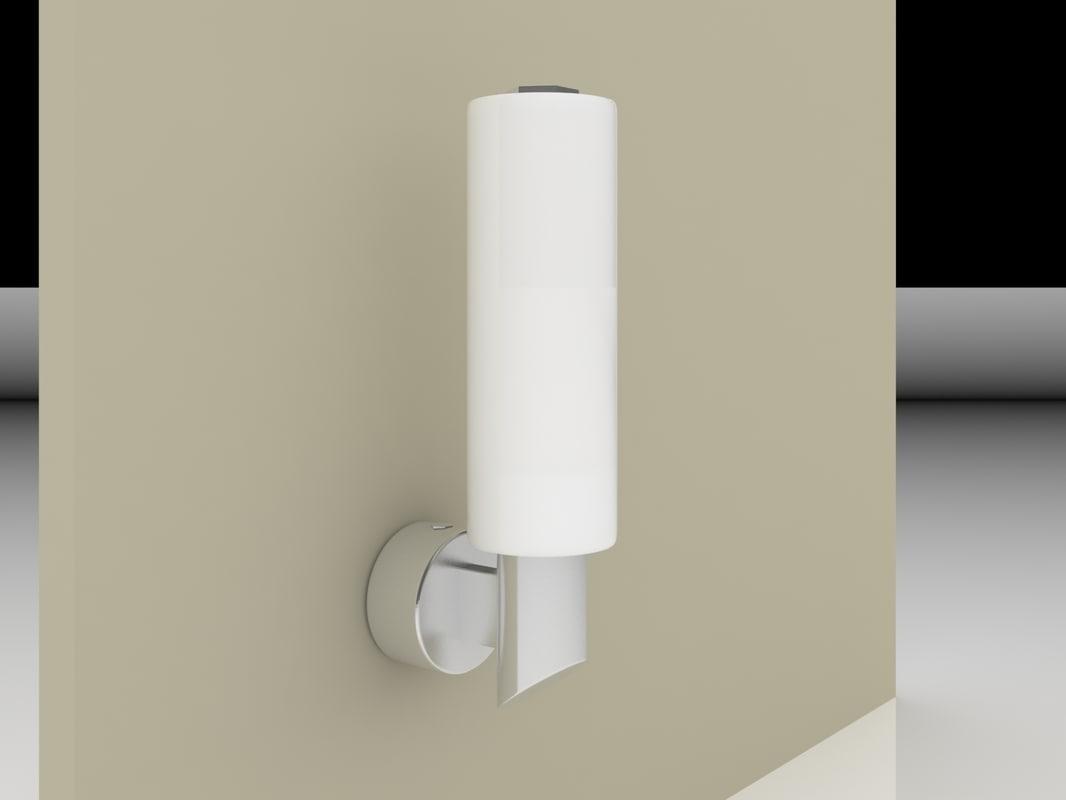wall lamp briloner 2103-018 3d max