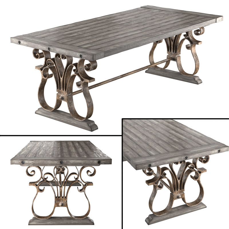table andrew 3d max