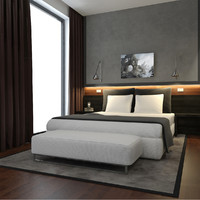 3d model scene modern hotel suite