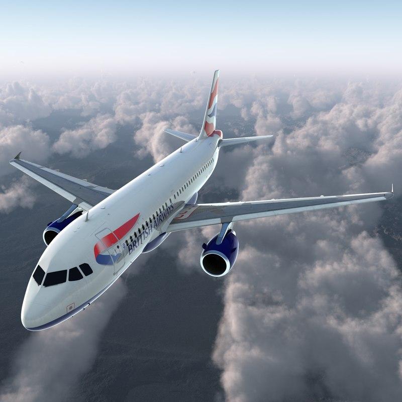 airbus a319 british airways max
