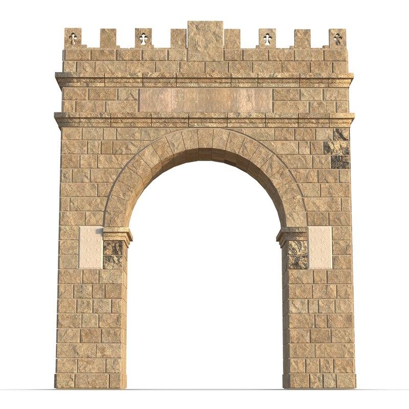 old arch 3d c4d
