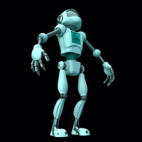 3d android droid model