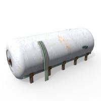 Water tank lowpoly