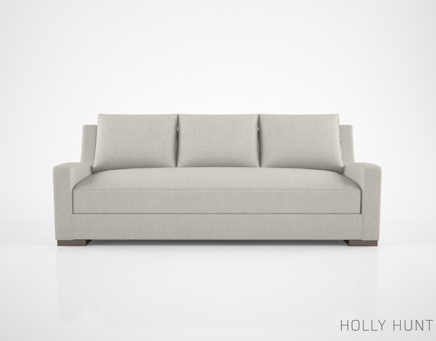 3d model holly hunt lisbon sofa
