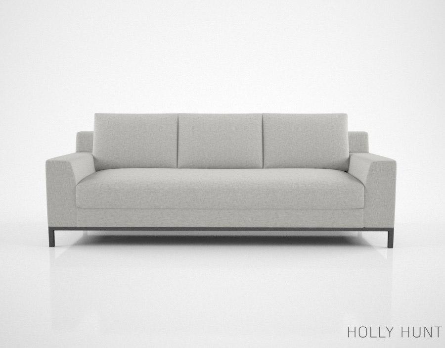 holly hunt caspian sofa max