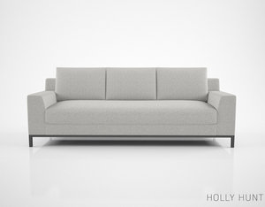 holly hunt caspian sofa max