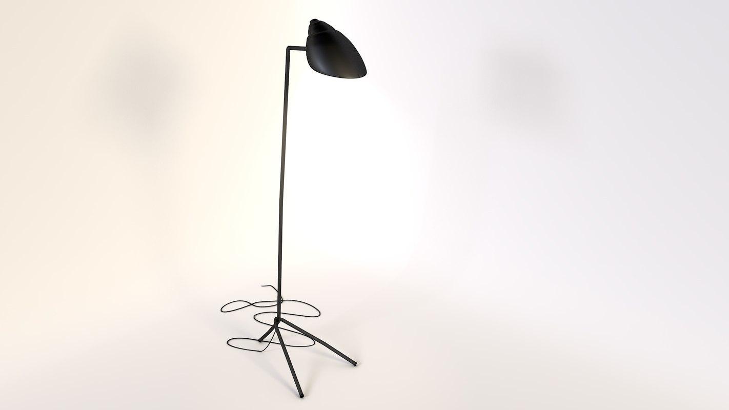 lampe industrielle light 3d model