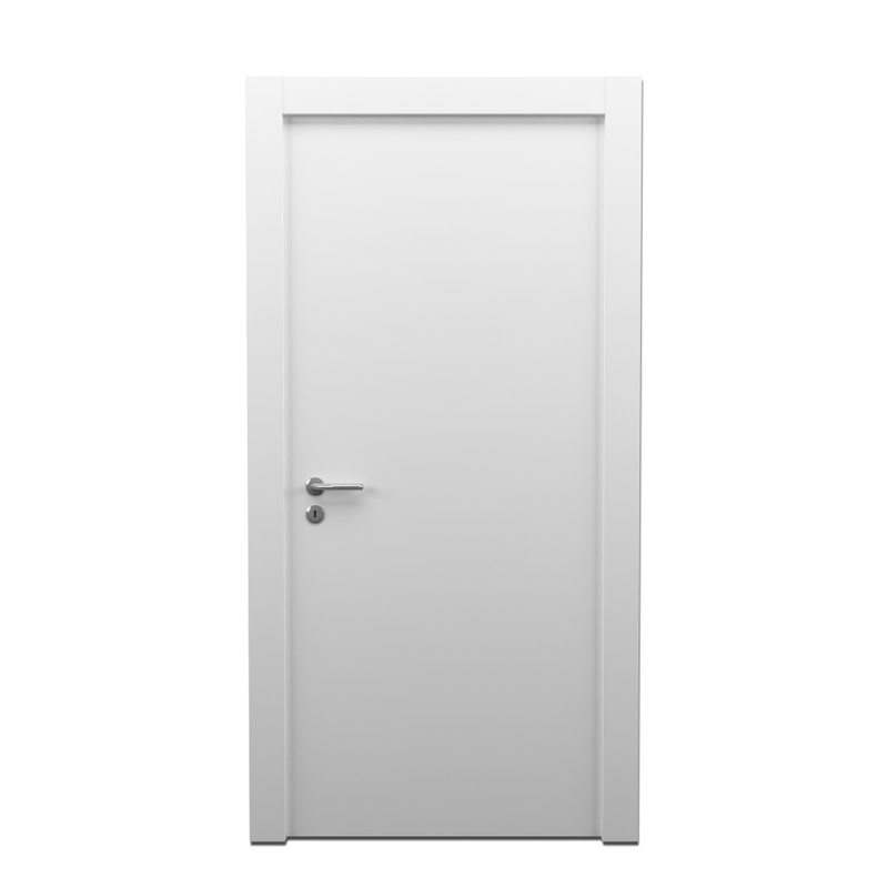 modern white door 3d 3ds