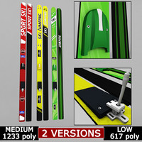ski jumping polys 3d 3ds