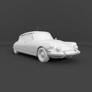 citroen ds 21 pallas 3d model