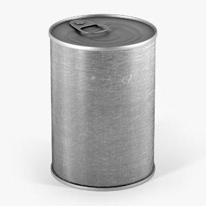 tin metal 3d max