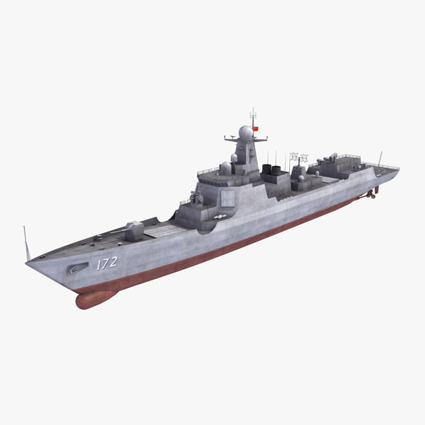 3d model chinese navy