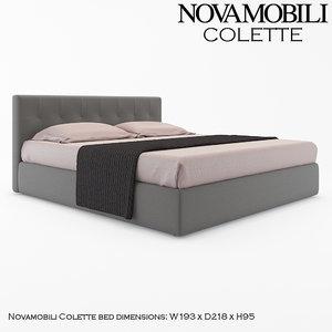 novamobili colette 3d model