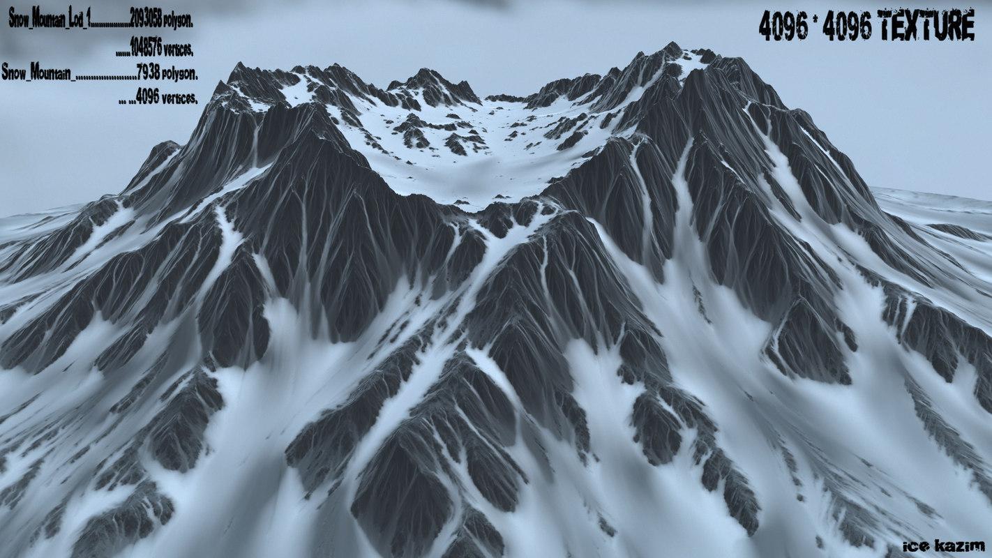 3d volkano model