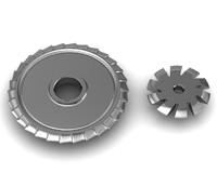 cutters metal real 3d model